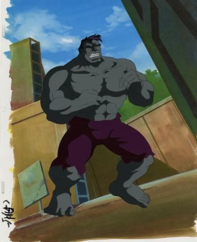 The Incredible Hulk Production Cel - ID: octhulk20018 Marvel
