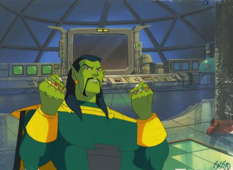 Iron Man Production Cel - ID: octironman20691 Marvel