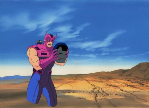 Iron Man Production Cel - ID: octironman20693 Marvel