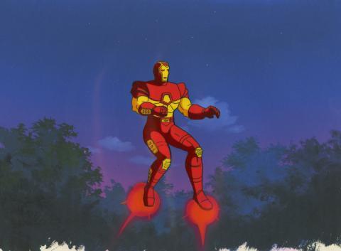 Iron Man Production Cel - ID: octironman20695 Marvel