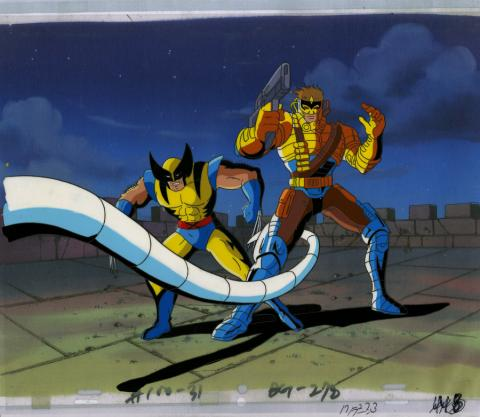 X-Men Production Cel - ID: octxmen20016 Marvel