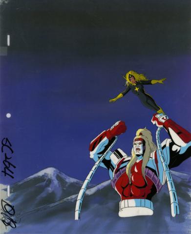 X-Men Production Cel - ID: octxmen20025 Marvel