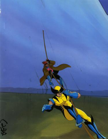 X-Men Production Cel - ID: octxmen20026 Marvel
