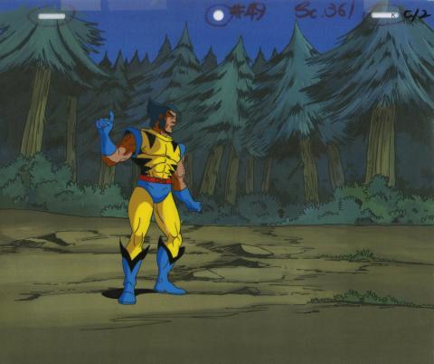 X-Men Production Cel - ID: octxmen20029 Marvel