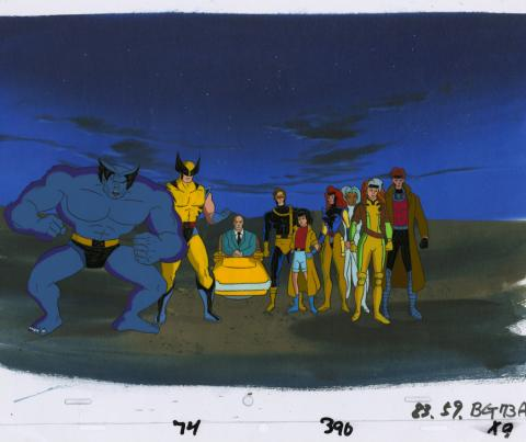 X-Men Production Cel and Drawing - ID: octxmen20041 Marvel