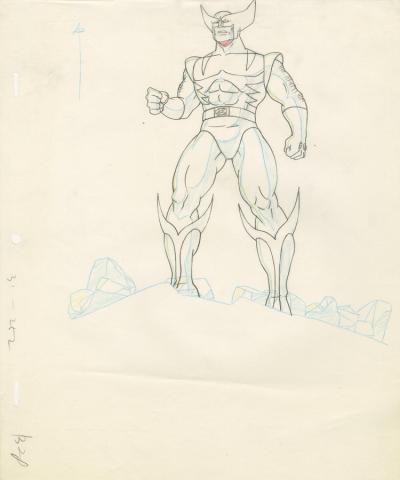 X-Men Production Drawing - ID: octxmen20045 Marvel