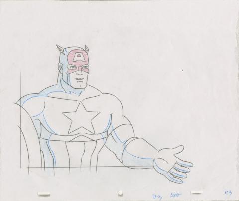 X-Men Production Drawing - ID: octxmen20050 Marvel