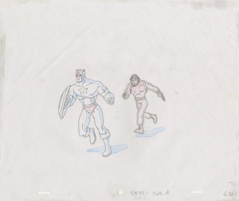 X-Men Production Drawing - ID: octxmen20051 Marvel