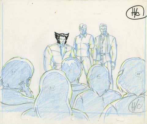 X-Men Production Drawing - ID: octxmen20056 Marvel