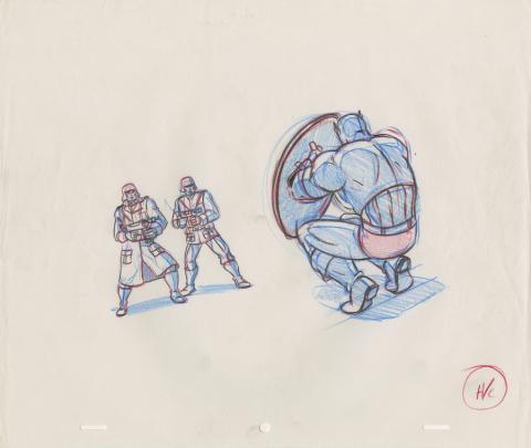 X-Men Production Drawing - ID: octxmen20059 Marvel