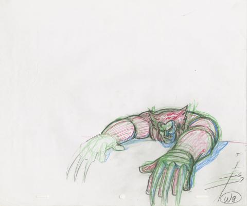 X-Men Production Drawing - ID: octxmen20060 Marvel