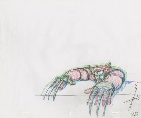 X-Men Production Drawing - ID: octxmen20061 Marvel
