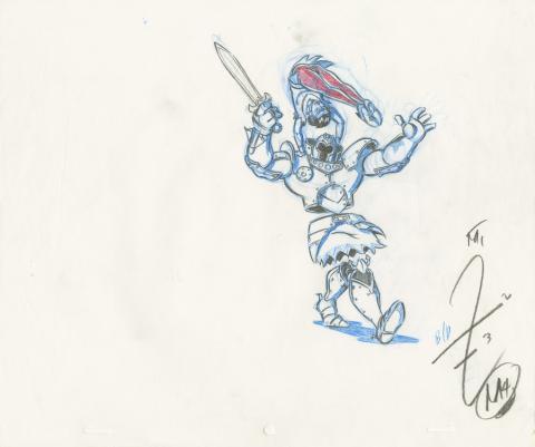 X-Men Production Drawing - ID: octxmen20062 Marvel