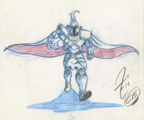 X-Men Production Drawing - ID: octxmen20063 Marvel