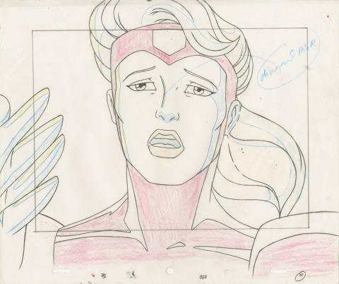 X-Men Layout Drawing - ID: octxmen20076 Marvel