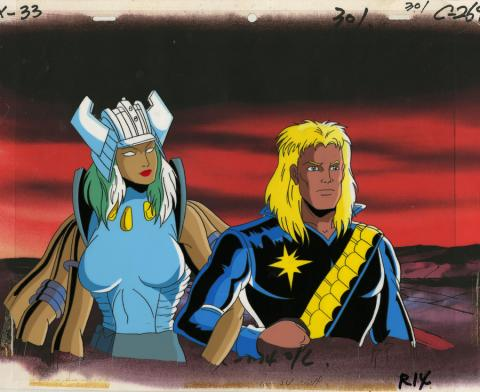 X-Men Production Cel - ID: octxmen20080 Marvel