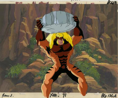 X-Men Production Cel - ID: octxmen20087 Marvel