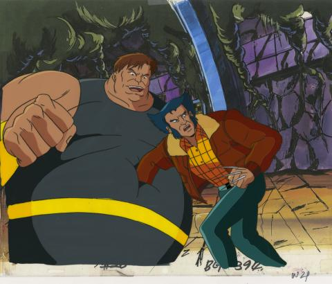 X-Men Production Cel - ID: octxmen20088 Marvel