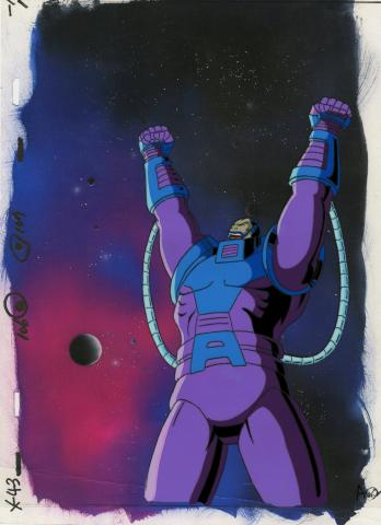 X-Men Production Cel - ID: octxmen20090 Marvel