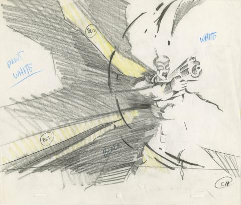 X-Men Production Drawing - ID: octxmen20092 Marvel