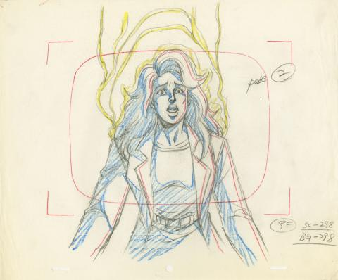 X-Men Production Drawing - ID: octxmen20095 Marvel