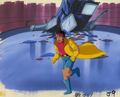 X-Men Production Cel - ID: octxmen20105 Marvel