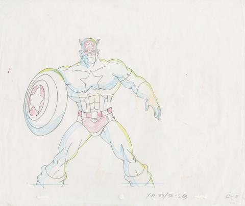X-Men Production Drawing - ID: octxmen20130 Marvel