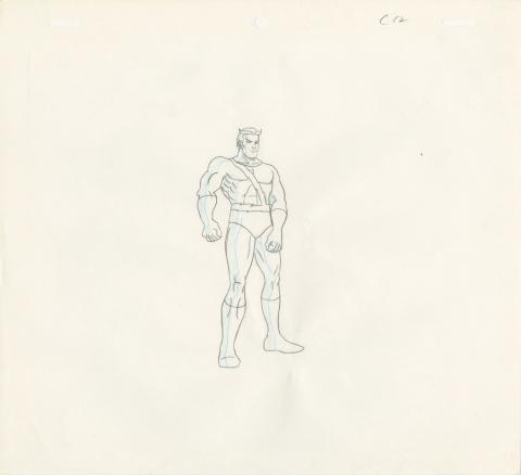 X-Men Production Drawing - ID: octxmen20132 Marvel