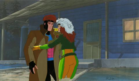 X-Men Production Cel - ID: octxmen20139 Marvel