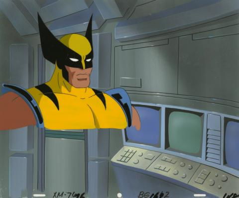 X-Men Production Cel and Background - ID: octxmen20213 Marvel