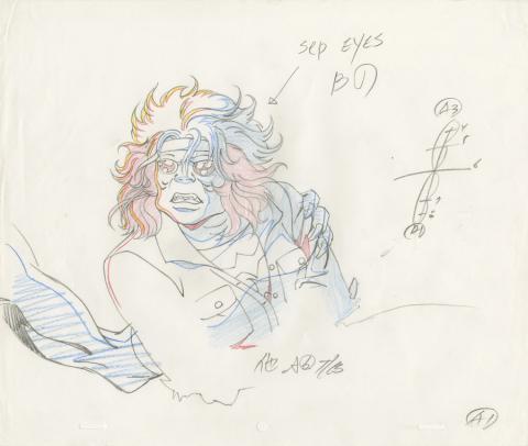 X-Men Production Drawing - ID: octxmen20219 Marvel