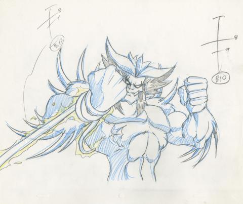 X-Men Production Drawing - ID: octxmen20221 Marvel