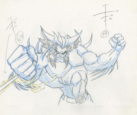 X-Men Production Drawing - ID: octxmen20222 Marvel