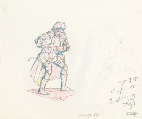 X-Men Production Drawing - ID: octxmen20330 Marvel