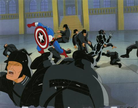 X-Men Production Cel and Drawing - ID: octxmen20343 Marvel