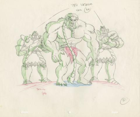 X-Men Production Drawing - ID: octxmen20476 Marvel