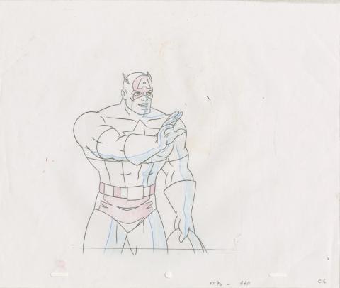 X-Men Production Drawing - ID: octxmen20480 Marvel