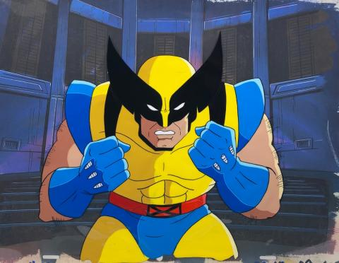 X-Men Production Cel - ID: octxmen20495 Marvel