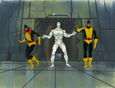 X-Men Production Cel Set-Up - ID: octxmen20508 Marvel