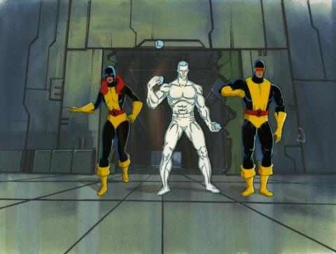 X-Men Production Cel Set-Up - ID: octxmen20510 Marvel
