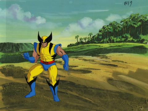 X-Men Production Cel - ID: octxmen20545 Marvel