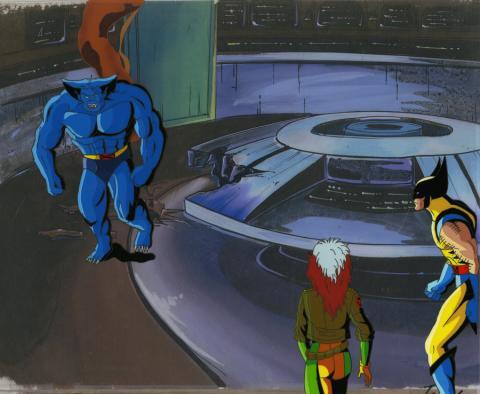 X-Men Production Cel - ID: octxmen20547 Marvel