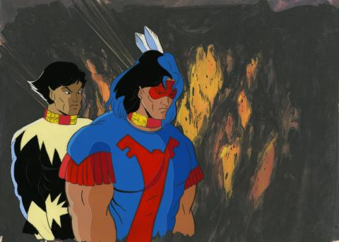 X-Men Production Cel - ID: octxmen20631 Marvel