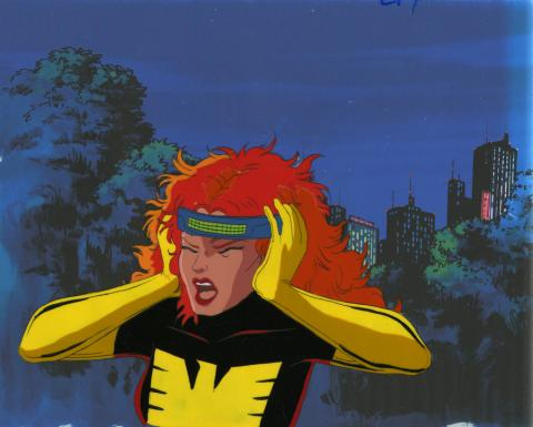 X-Men Production Cel - ID: octxmen20648 Marvel