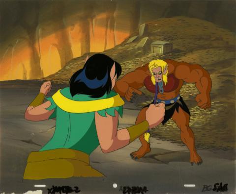 X-Men Production Cel - ID: octxmen20729 Marvel