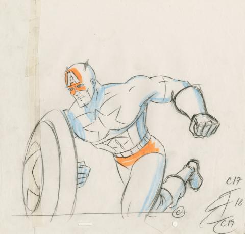 X-Men Production Drawing - ID: octxmen20790 Marvel