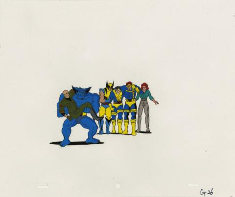X-Men Production Cel - ID: octxmen20801 Marvel
