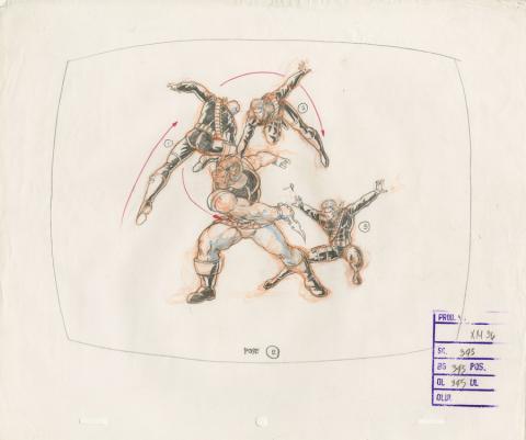 X-Men Production Drawing - ID: octxmen20805 Marvel