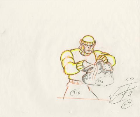 X-Men Production Drawing - ID: octxmen20816 Marvel