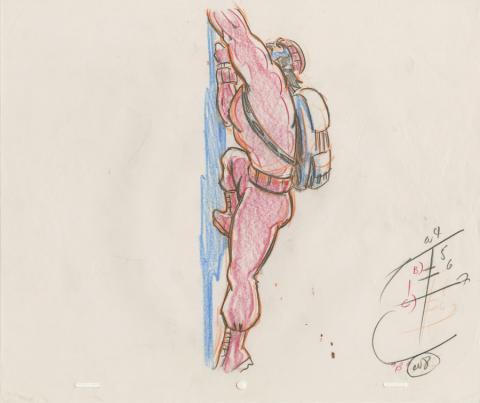 X-Men Production Drawing - ID: octxmen20819 Marvel